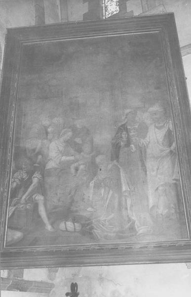 tableau : Nativité (la), vue générale