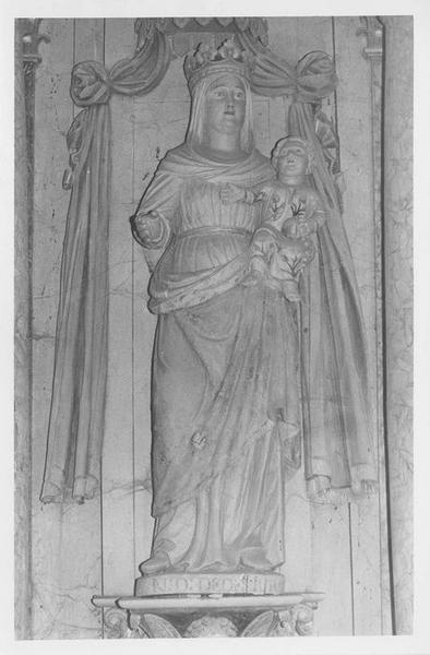 Statue dite Notre-Dame-de-Délivrance : Vierge à l'Enfant