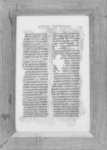 livre (bréviaire) de saint Yves, vue générale