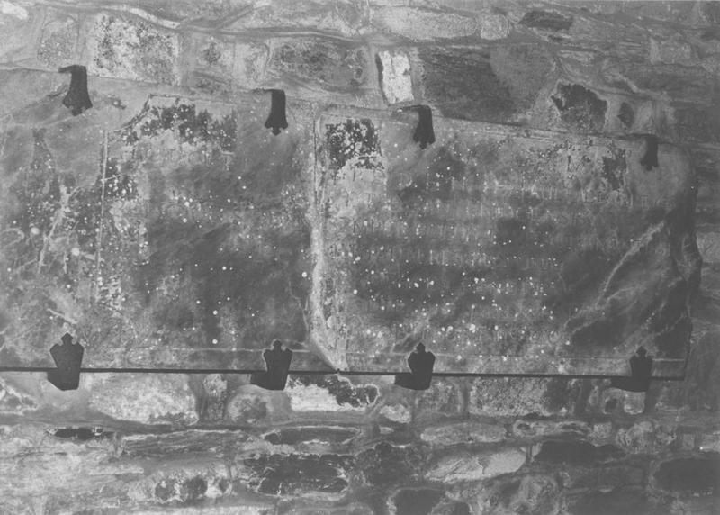 dalle funéraire de Thébault de Breignon, évêque de Saint-Brieuc, vue générale
