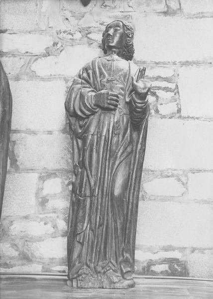 statue : saint Jean l'Evangéliste, vue générale