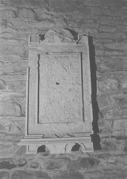 stèle (stèle funéraire), vue générale