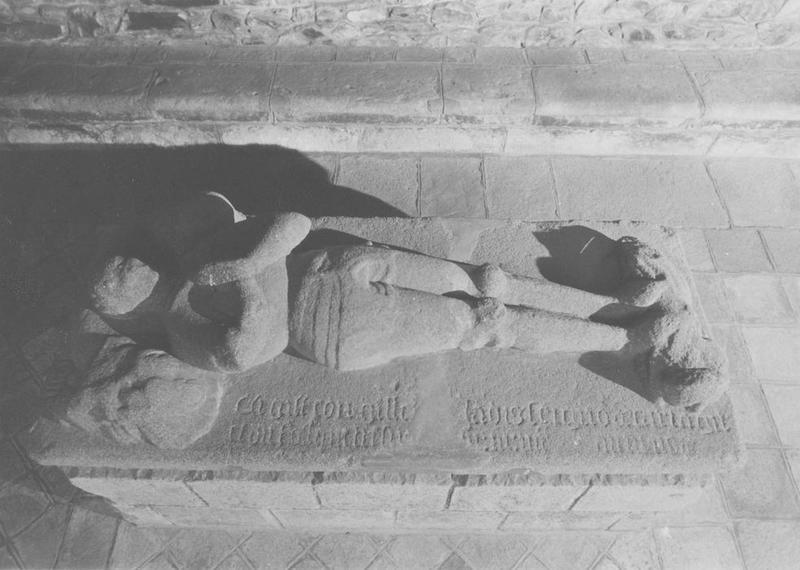 tombeau d'Eon Guillebert, vue générale