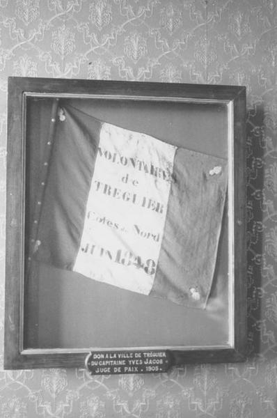 drapeau des volontaires de Tréguier, vue générale