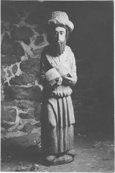 Statue : saint Nicodème, vue générale