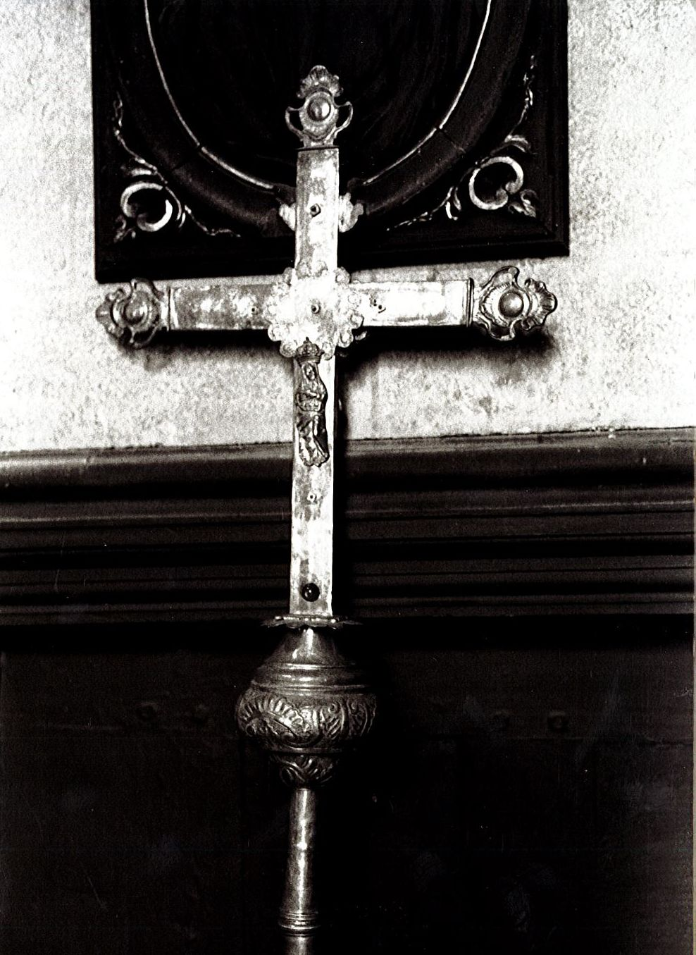 croix de procession n°1, vue générale
