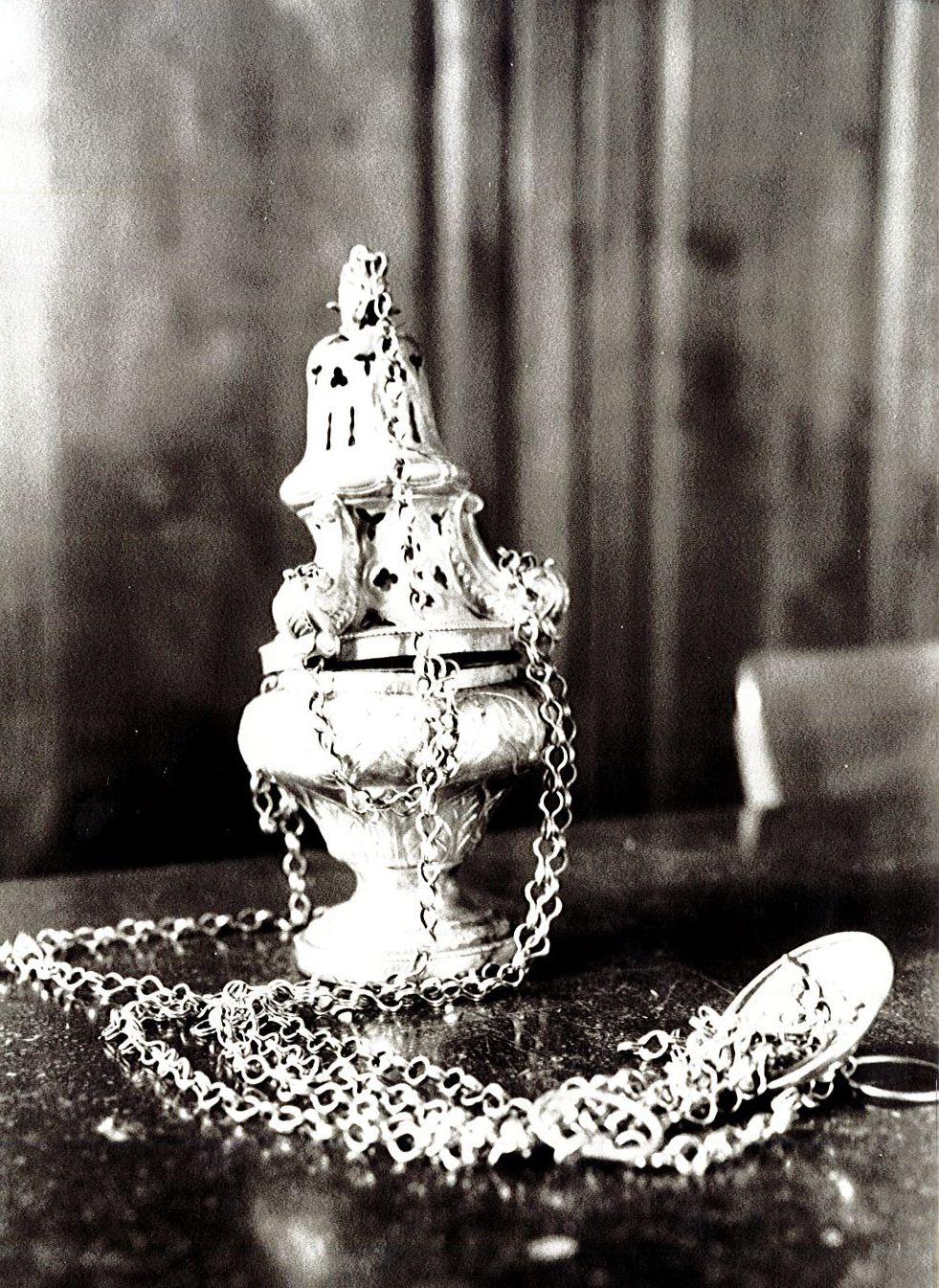Encensoir et navette à encens