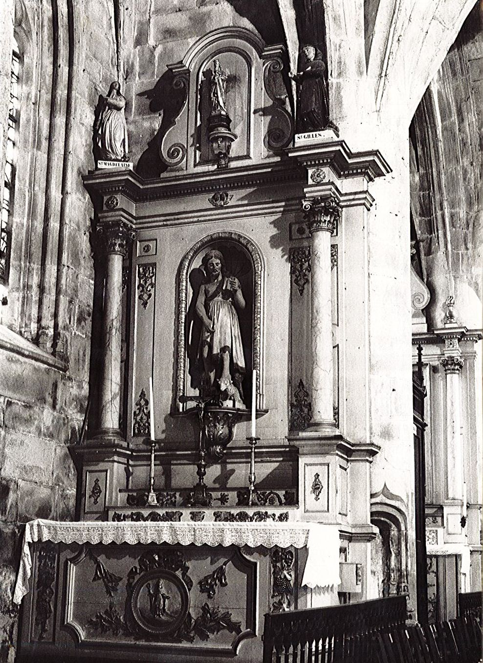 retable de Saint-Jean-Baptiste, vue générale