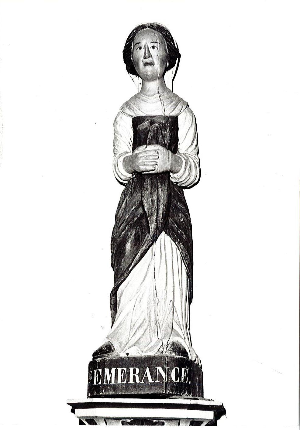 Statue : Sainte Emerance