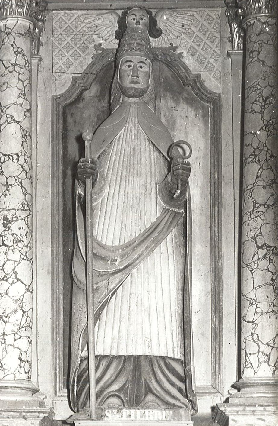 Statue : Saint Pierre