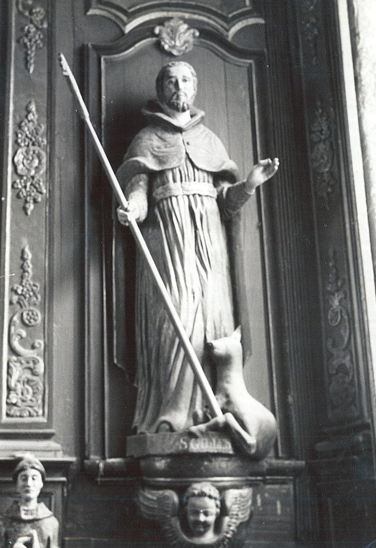 statue : Saint Gilles, vue générale