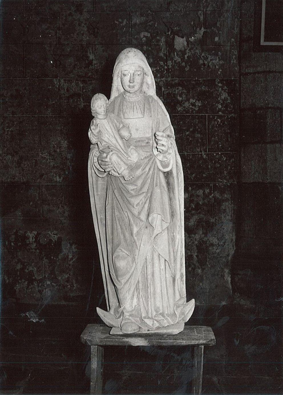 Statue : Vierge à l'Enfant dite à la lune