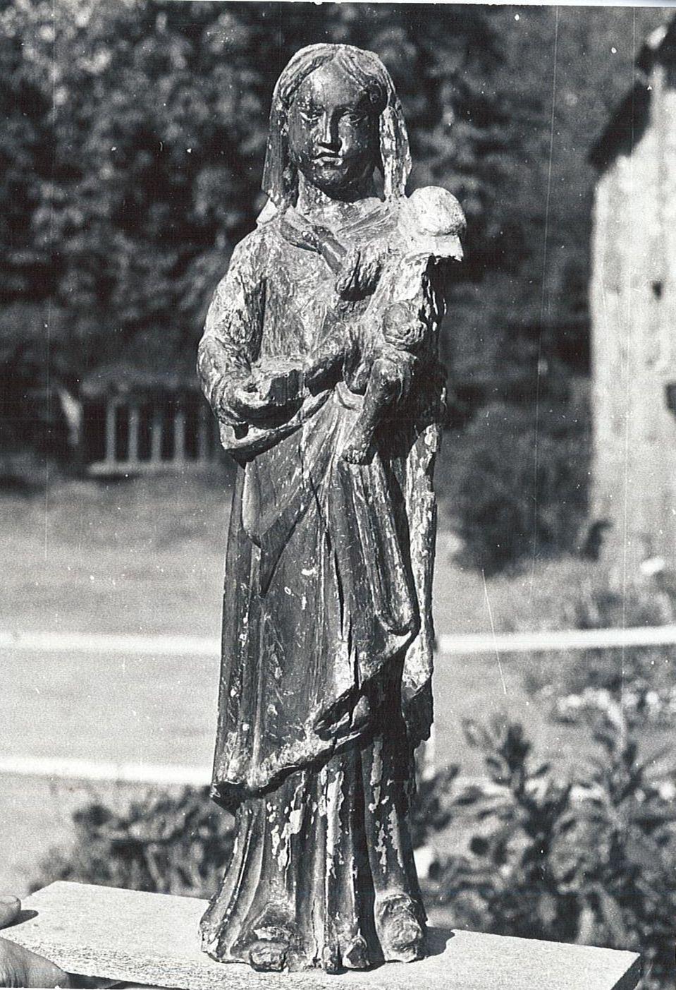 Statue de procession : Vierge à l'Enfant