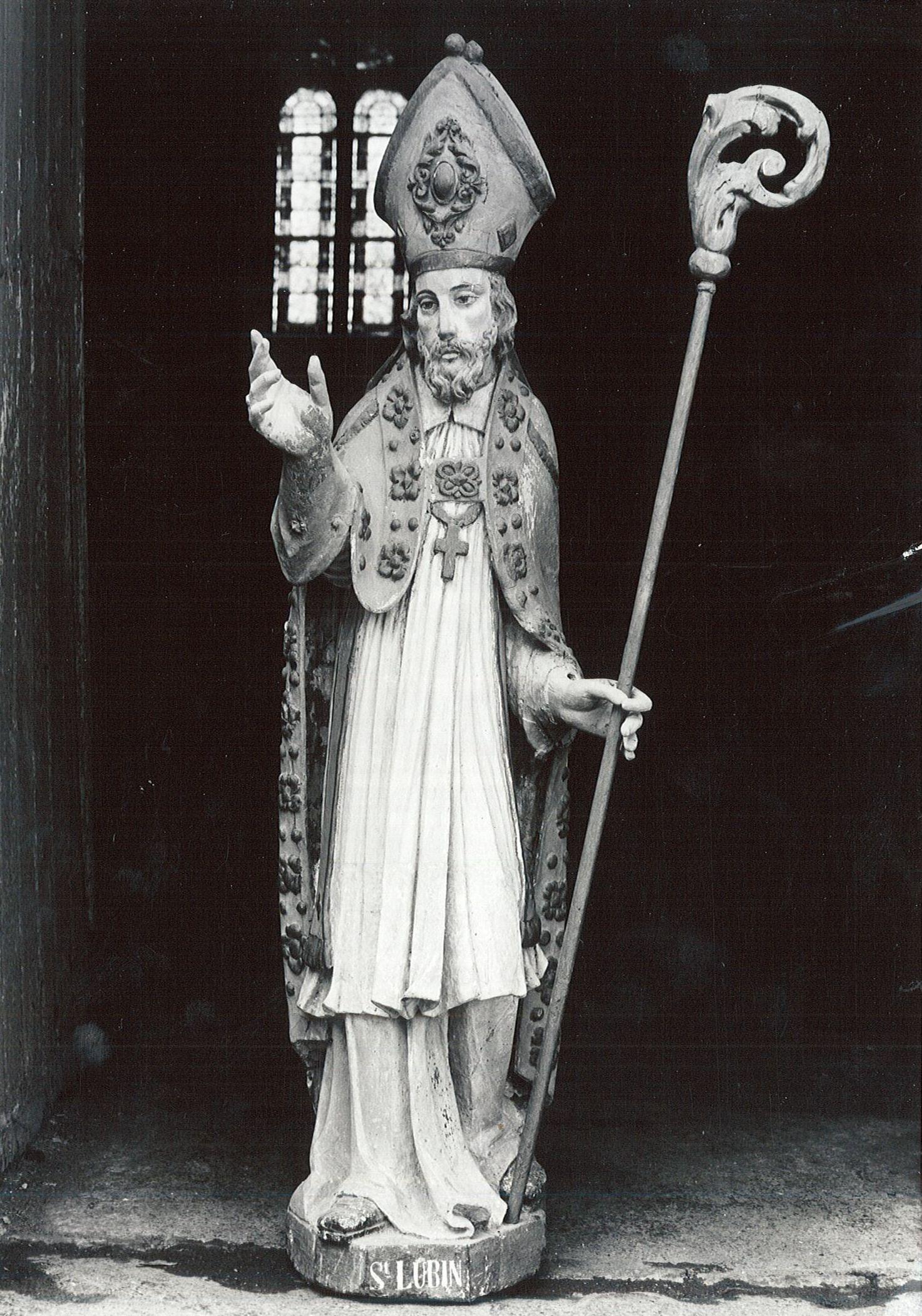 Statue : Saint Lubin