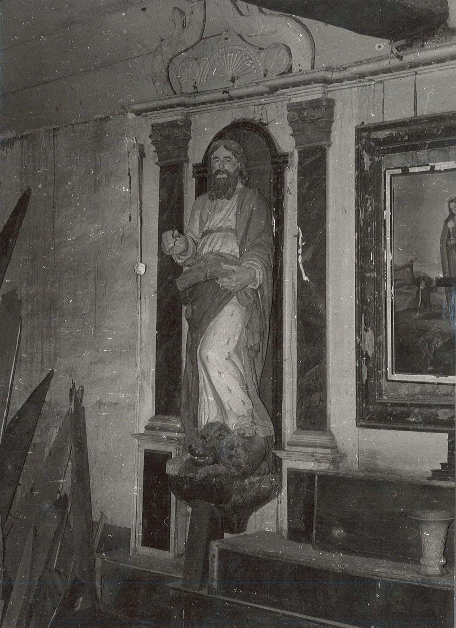 statue : Saint Marc, vue générale