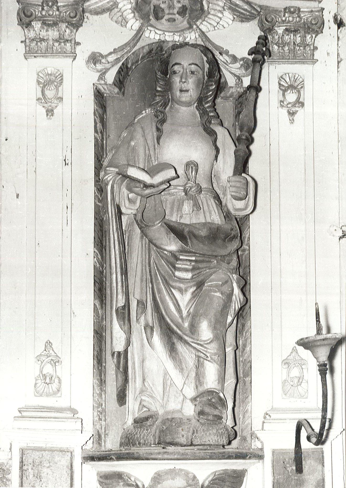 Statue : Sainte Appoline, vue générale