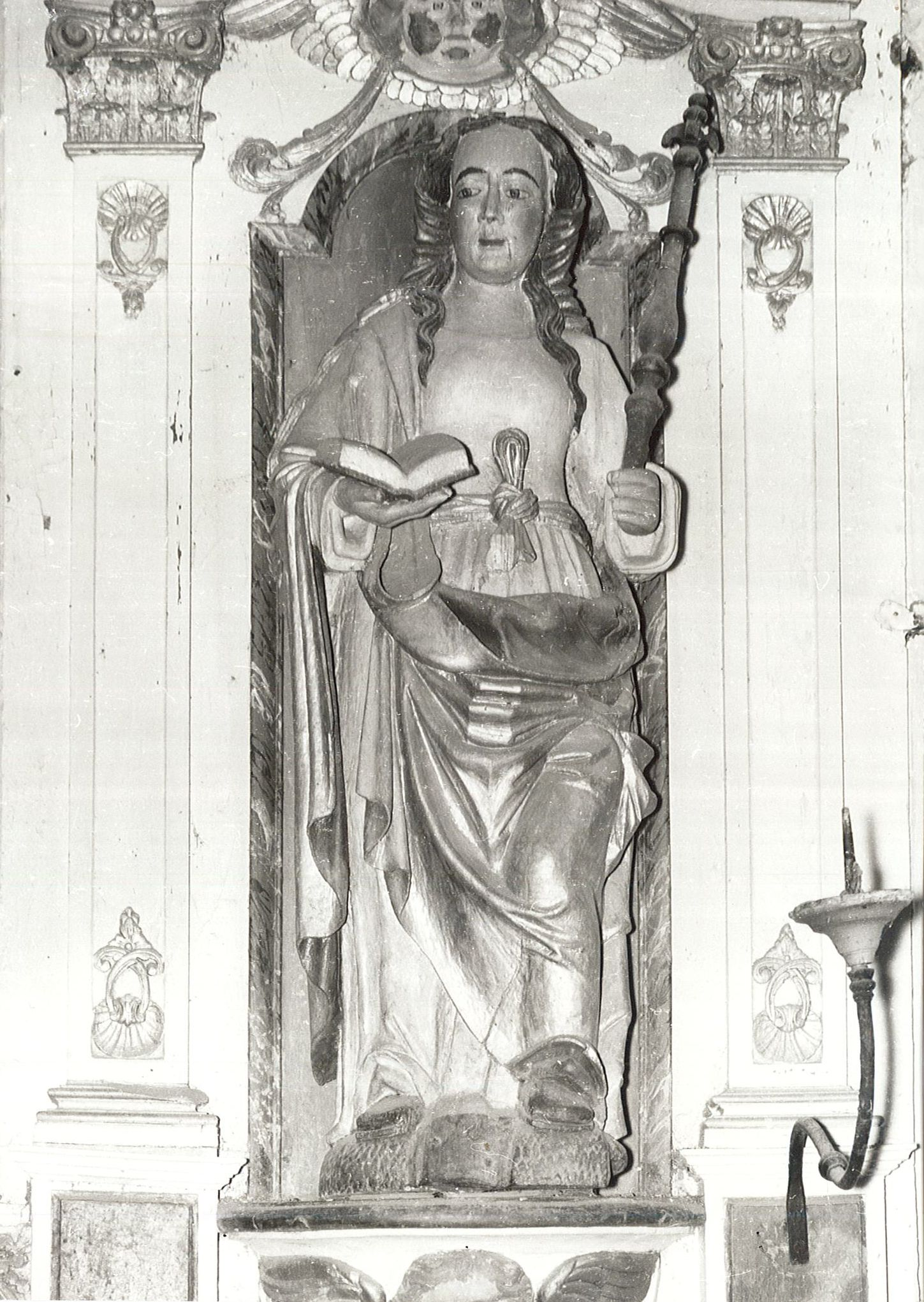Statue : Sainte Appoline