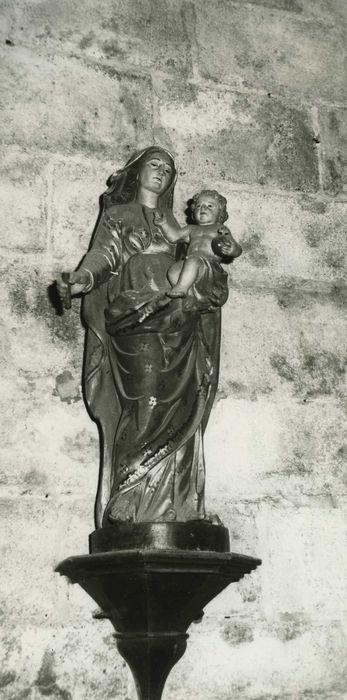 statue : Vierge à l'Enfant n°5, vue générale