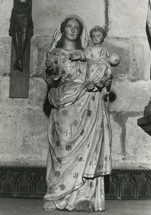 statue : Vierge à l'Enfant n°3, vue générale