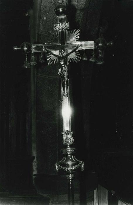 croix de procession n°2 (3 clochettes), vue générale