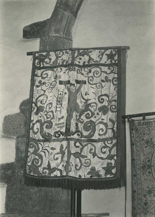 bannière de procession n°1, vue générale de l'envers