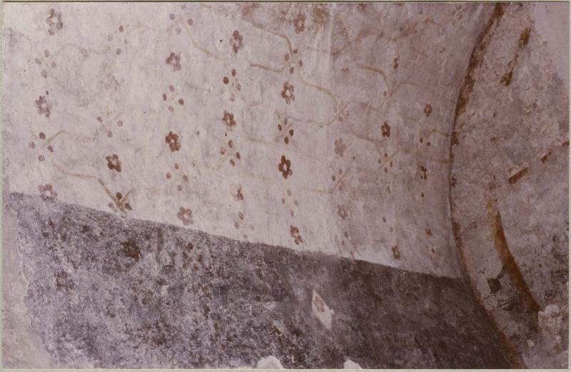 Peinture murale, vue partielle