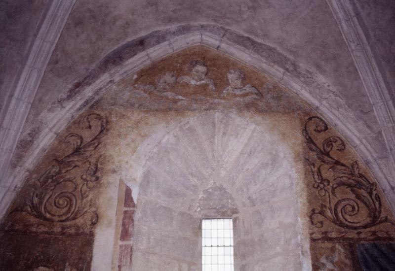 peinture monumentale du transept nord, détail