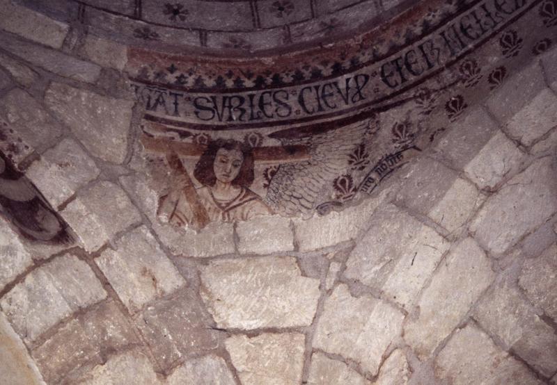 Peinture monumentale de la coupole, vue partielle