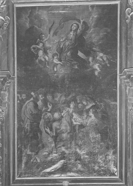 tableau (tableau d'autel) : Assomption, vue générale