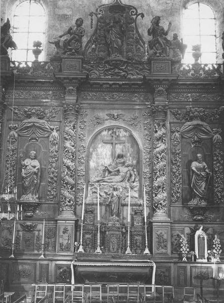 Retable (retable architecturé)