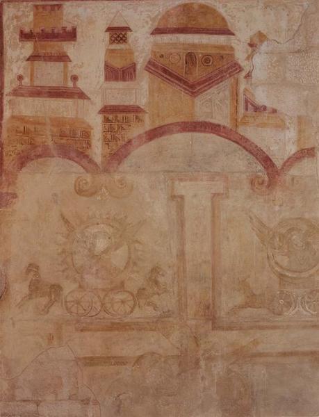 peinture monumentale : Crucifixion, détail