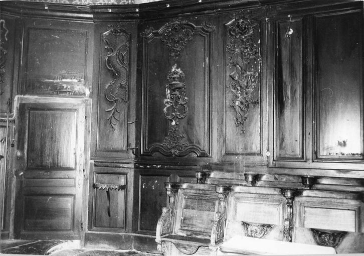 lambris et stalles du choeur, 18e siècle