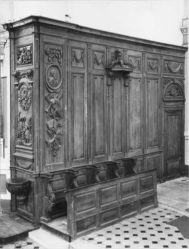 lambris du choeur, 18e siècle