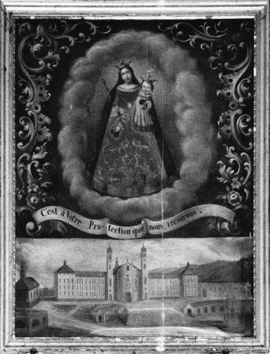 Tableau : Notre-Dame des Ermites