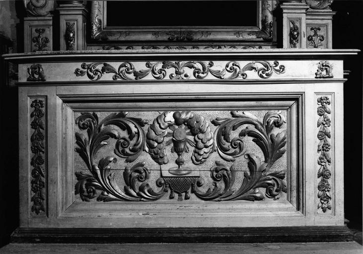 deuxième autel latéral gauche, 18e siècle