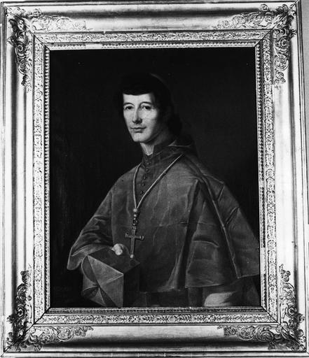 tableau : Le cardinal de Rohan-Chabot, cadre