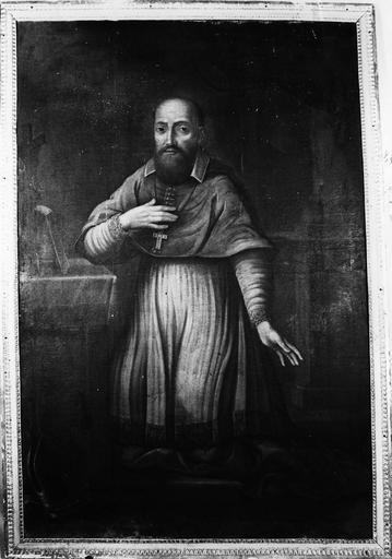 Tableau : Saint François de Sales, cadre