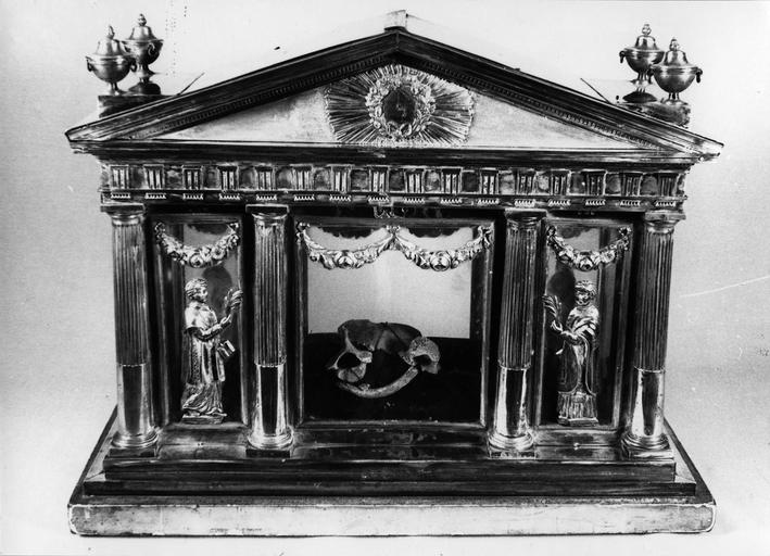 Châsse-reliquaire de saint Ferréol et de saint Ferjeux