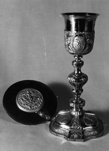calice et patène, 19e siècle