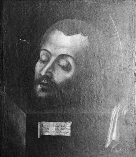 tableau : Tête de saint Jean-Baptiste