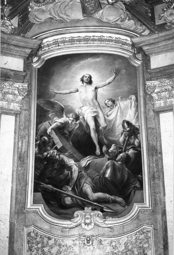 tableau : La Résurrection, Carle van Loo, 1750, après restauration
