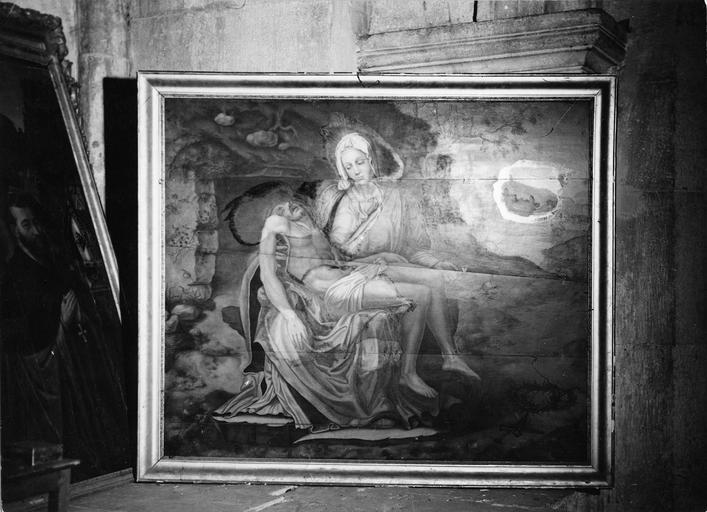 Tableau (panneau peint) : Vierge de Pitié