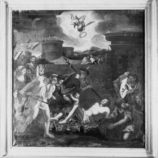 Tableau : Le Martyre de saint Vincent