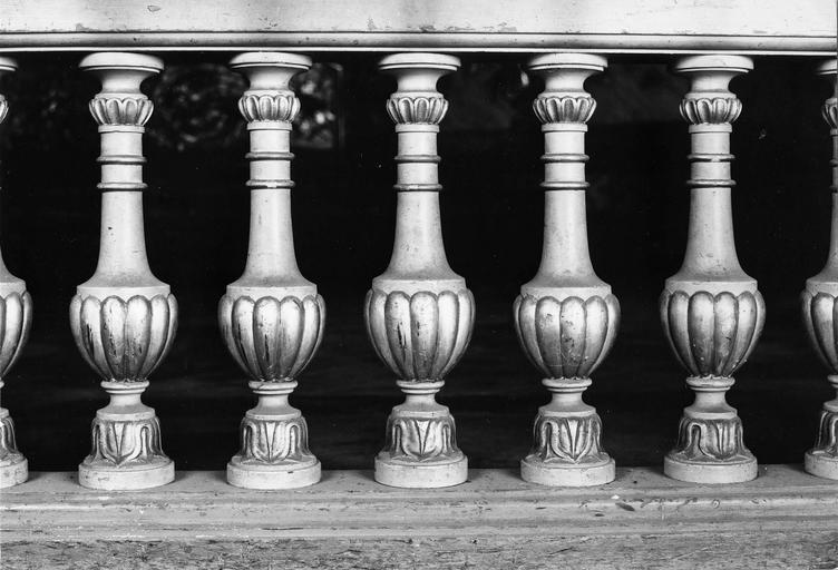 balustrade de clôture du choeur, 18e siècle
