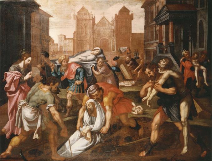 7 tableaux : Les Oeuvres de la Miséricorde