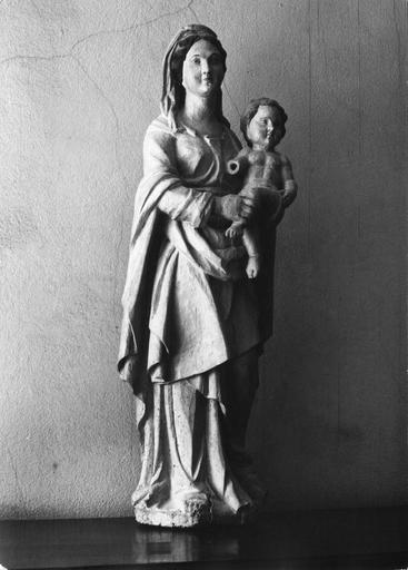 statue : Vierge à l'Enfant, 18e siècle