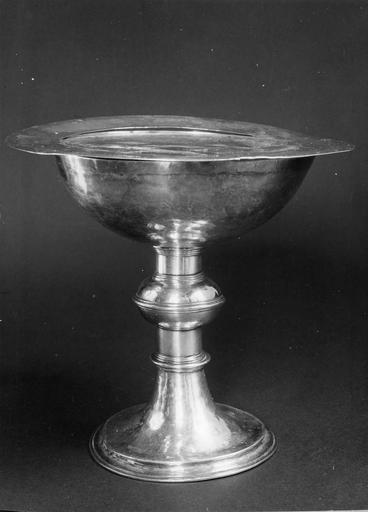 Coupe de communion à usage du culte luthérien, argent en prtie doré, 1625