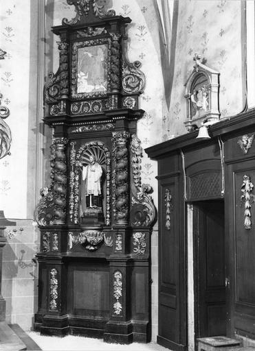 retable, bas-relief : Saint Nicolas