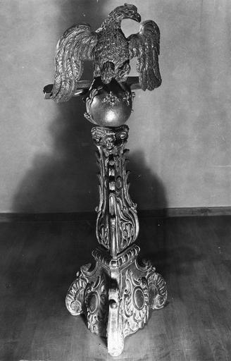 aigle-lutrin, bois, 18e siècle