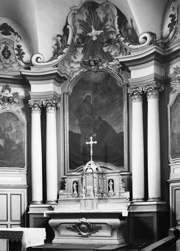 Maître-autel, tableau du retable : Saint Pierre